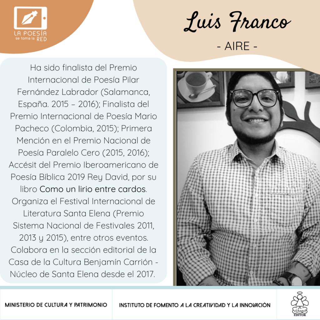 Bio Luis Franco