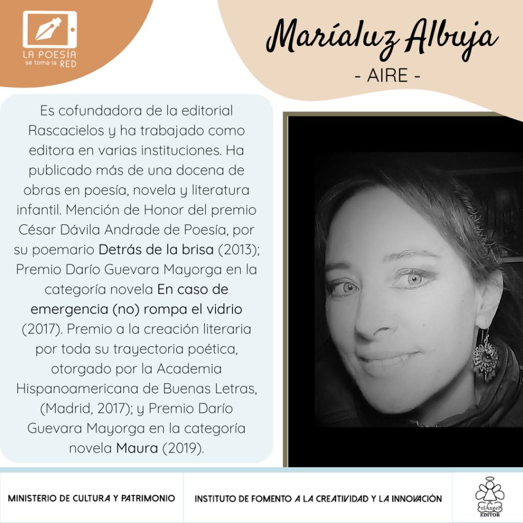 Bio Maríaluz Albuja