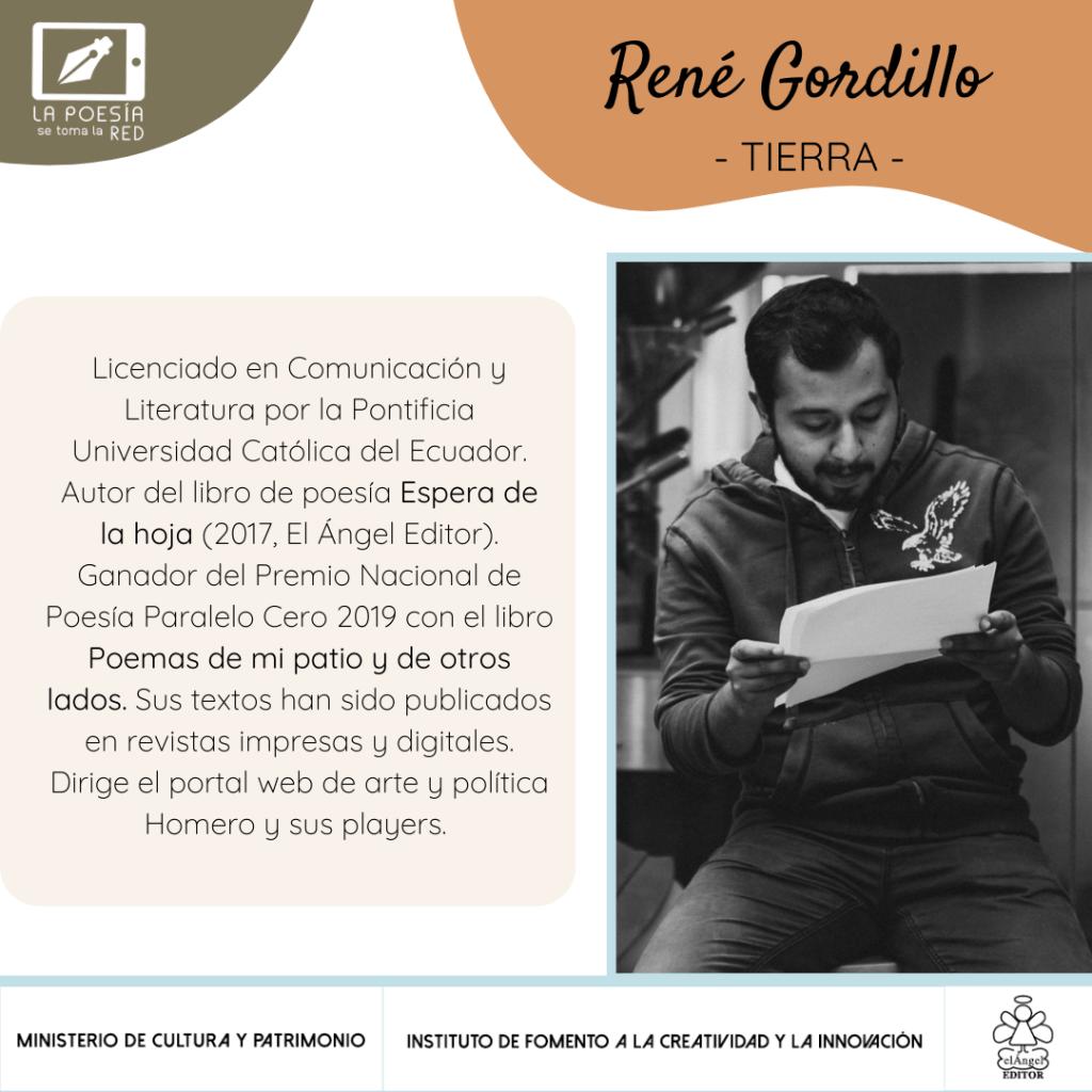 Bio René Gordillo