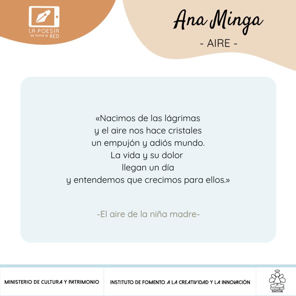 Verso-Ana Minga