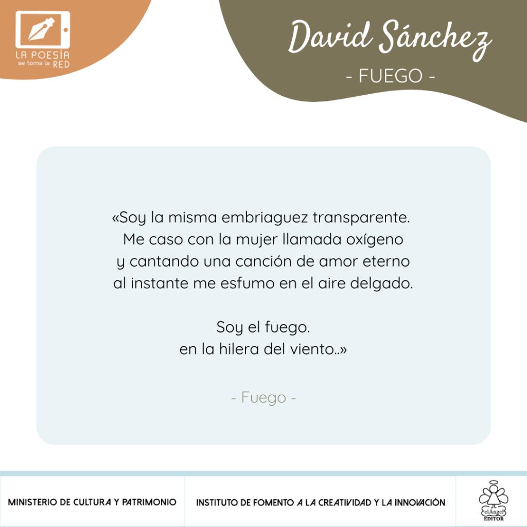 Verso - David Sánchez
