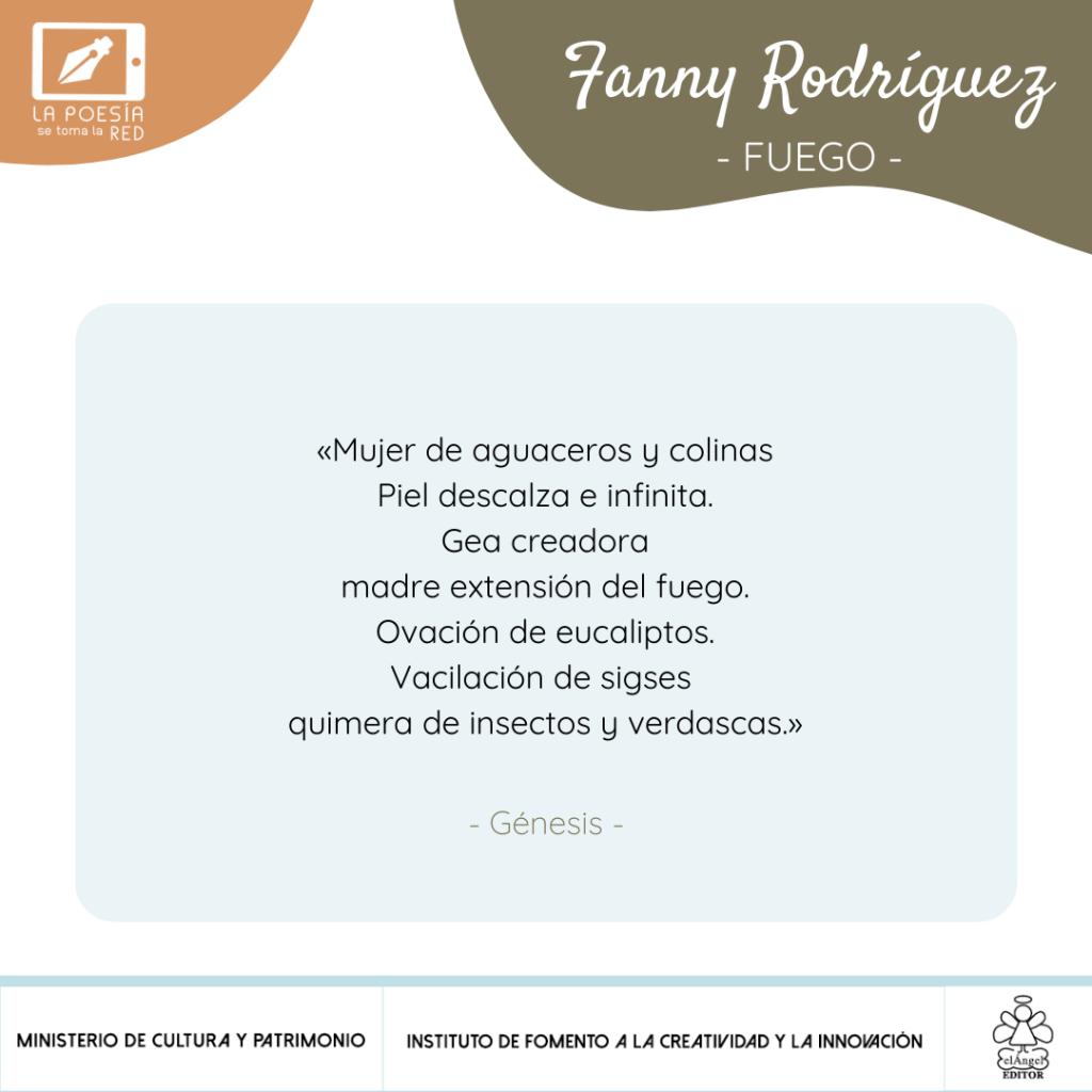 Verso - Fanny Rodríguez