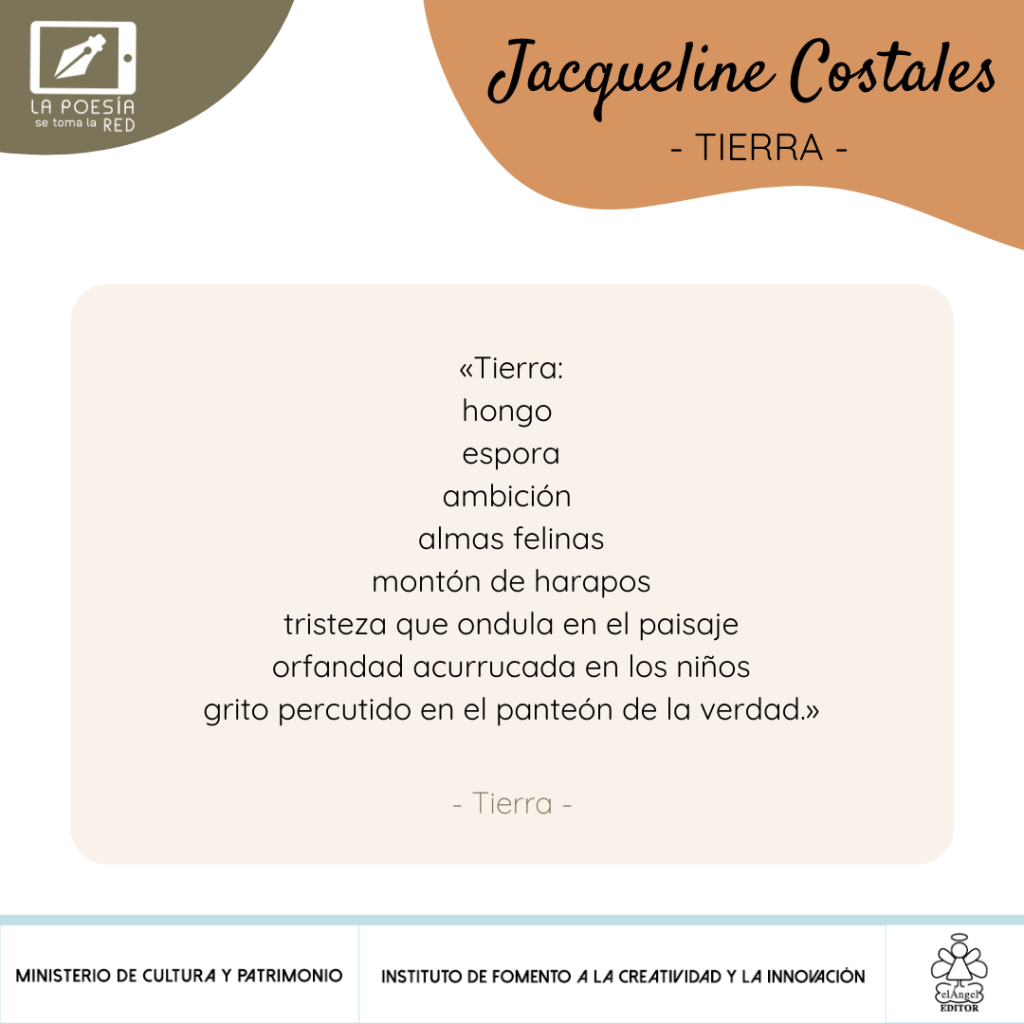 Verso Jacqueline Costales