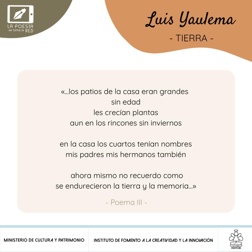 Verso - Luis Yaulema