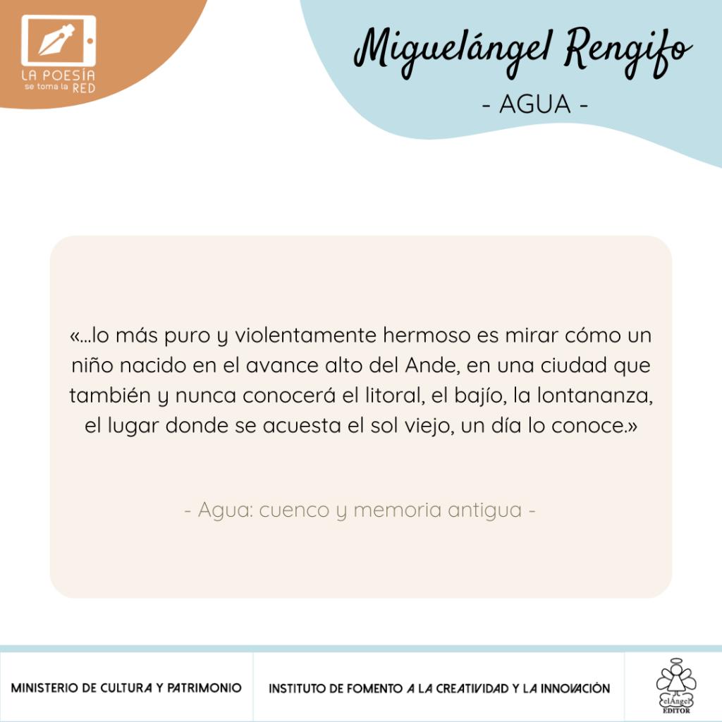 Verso Miguel Ángel