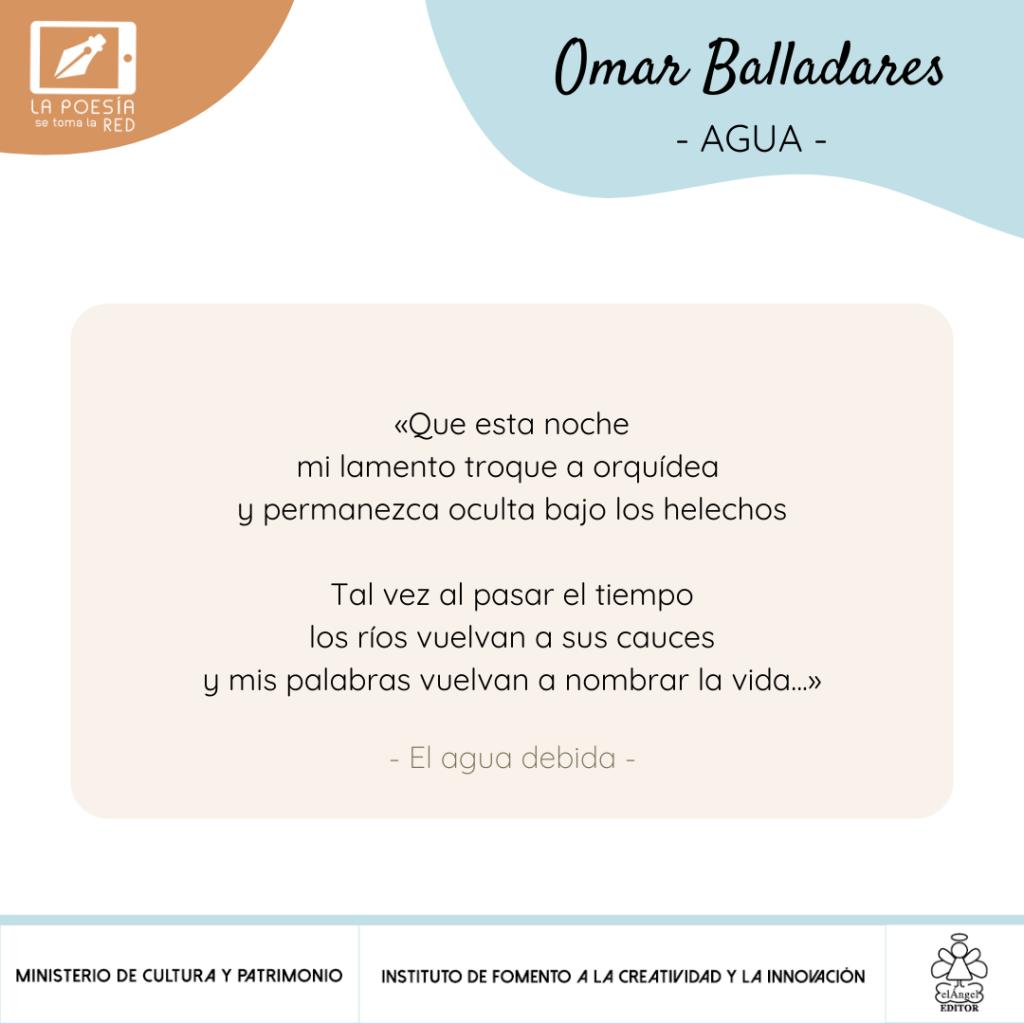 Verso -Omar Balladares