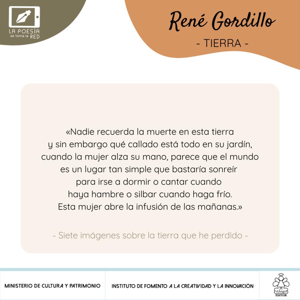 Verso René Gordillo