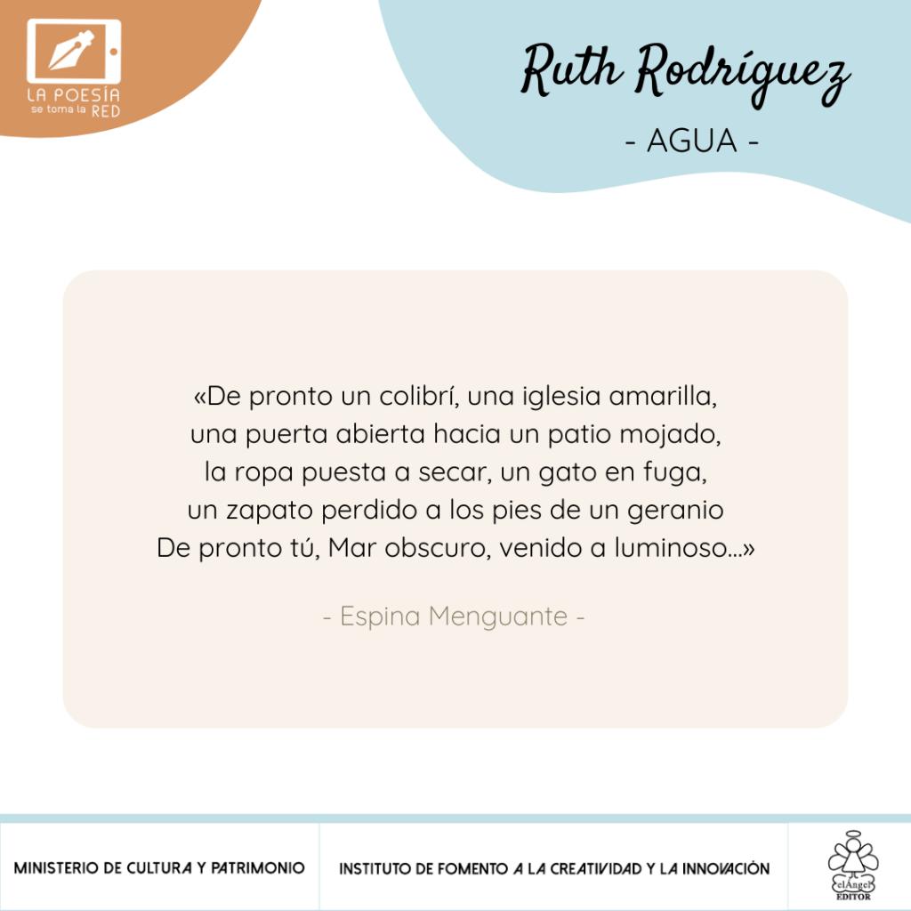 Verso Ruth Rodríguez